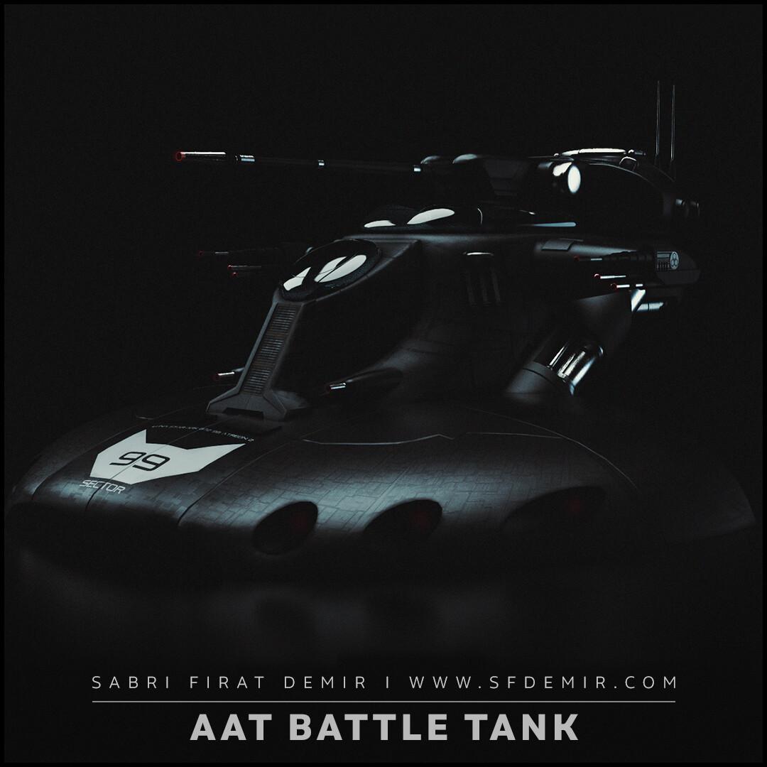 Star Wars AAT Battle Tank