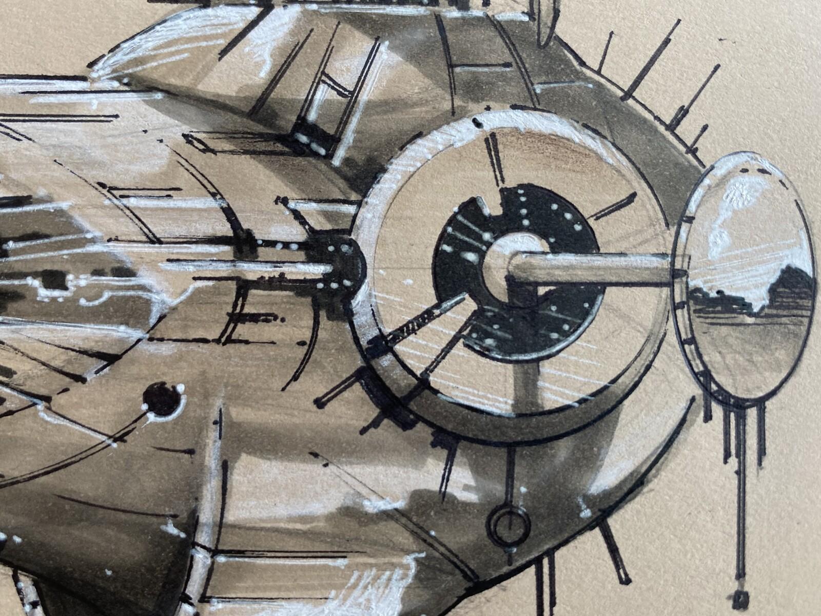 Starship concept practice