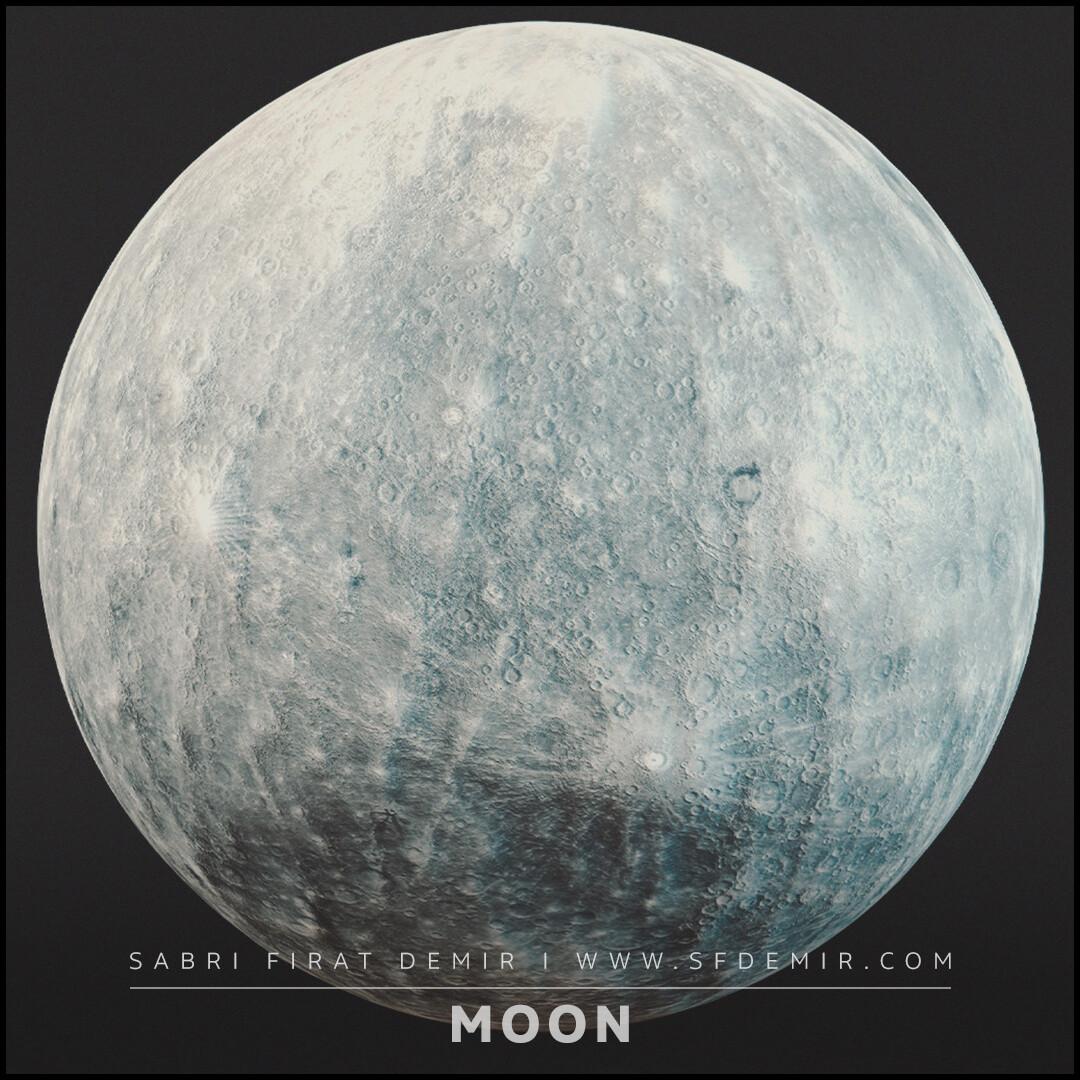 PBR Moon