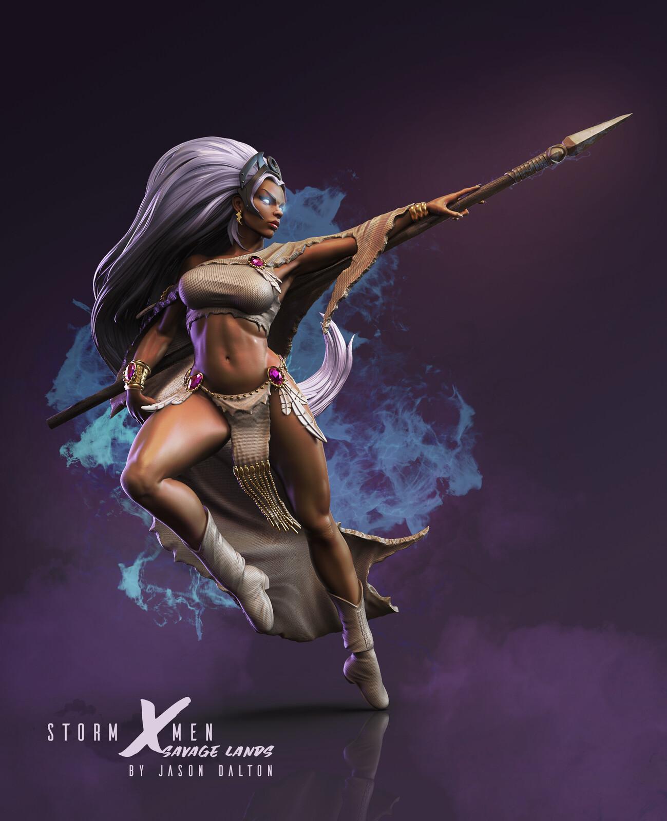 Storm - Savage Lands - 3D Printable