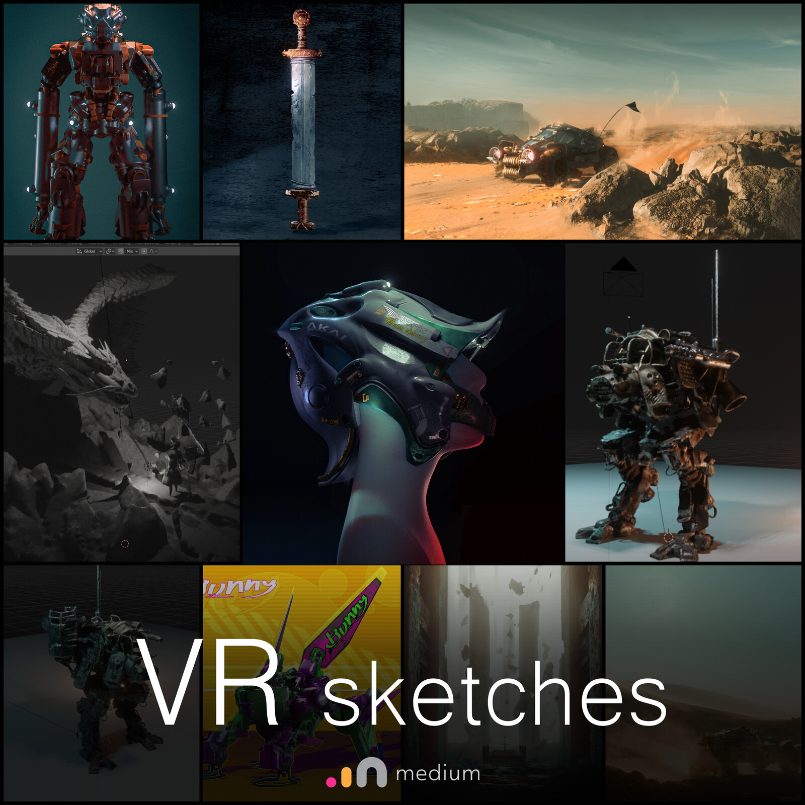 VR sketches