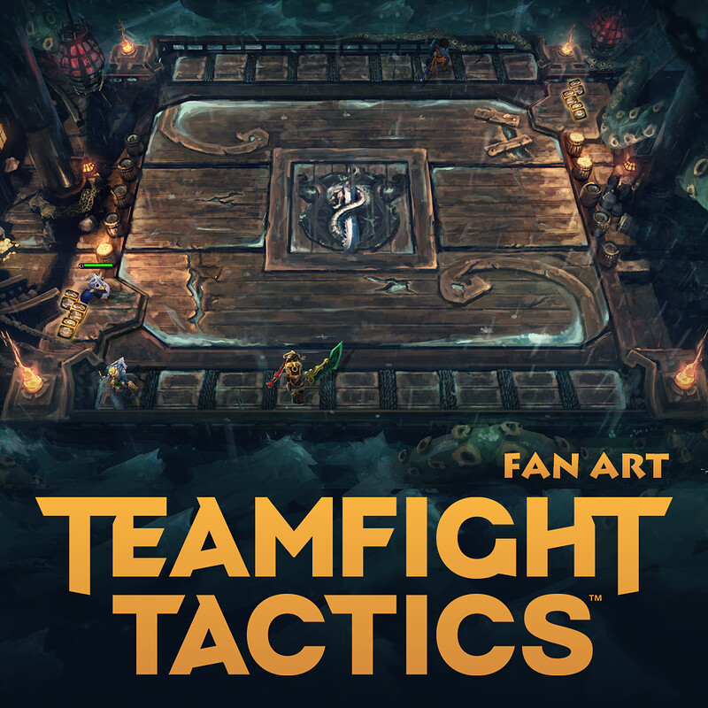 Teamfight Tactics Board  -Fan Art-