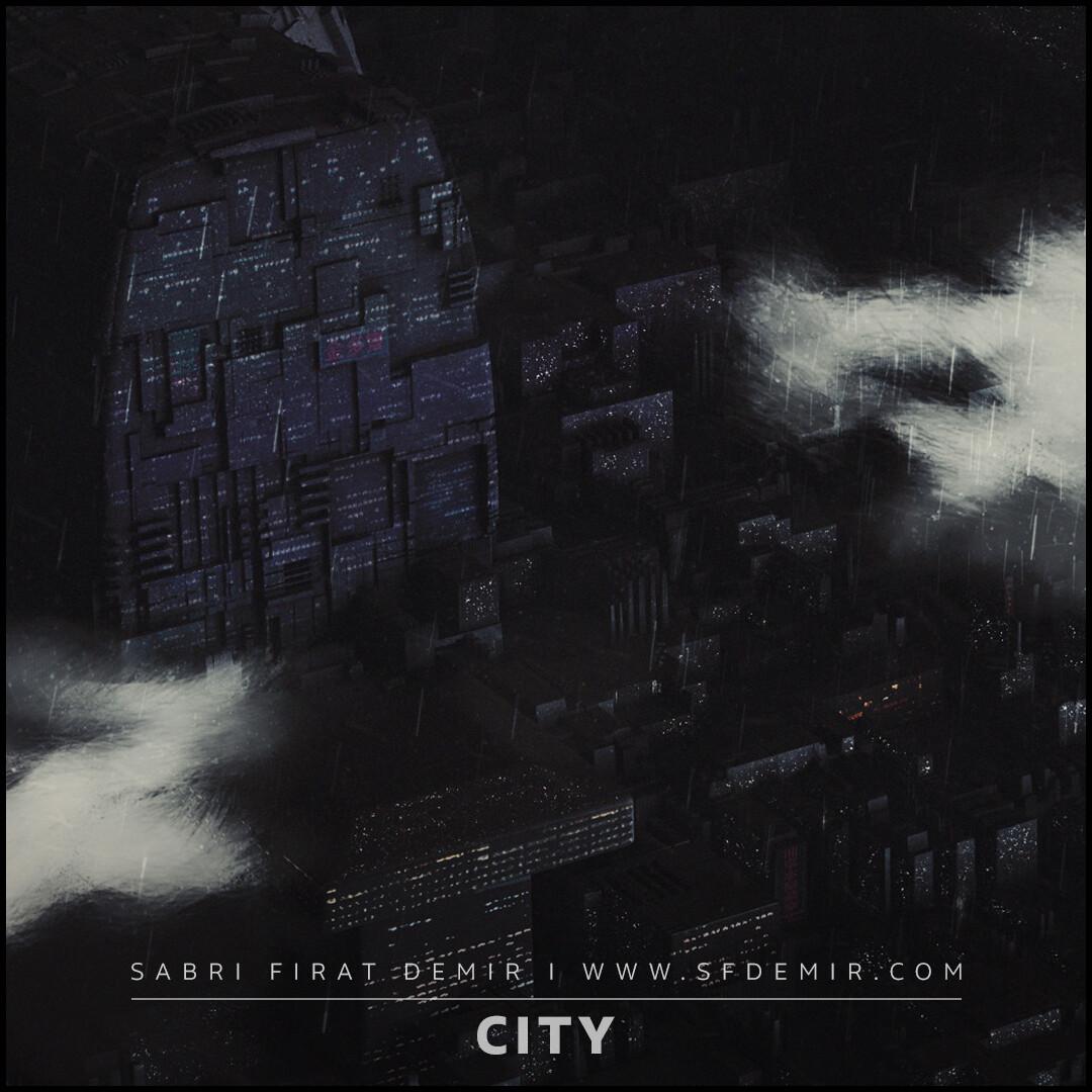 Sci-Fi Miniature City