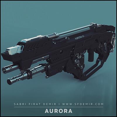 Aurora 91 - SCI-FI Gun