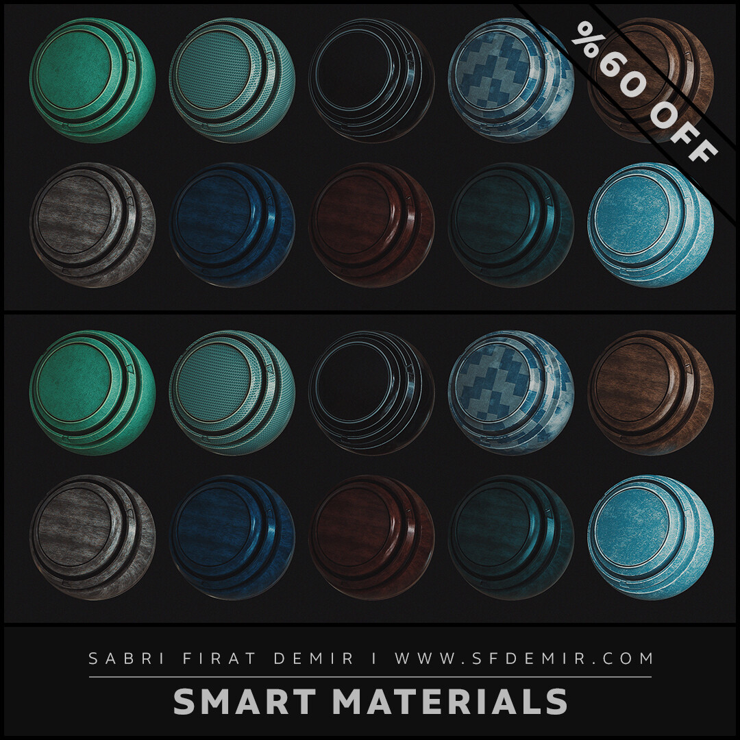 High Quality Smart Material Pack 01