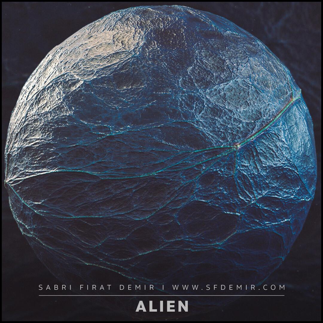 Alien Skin Material