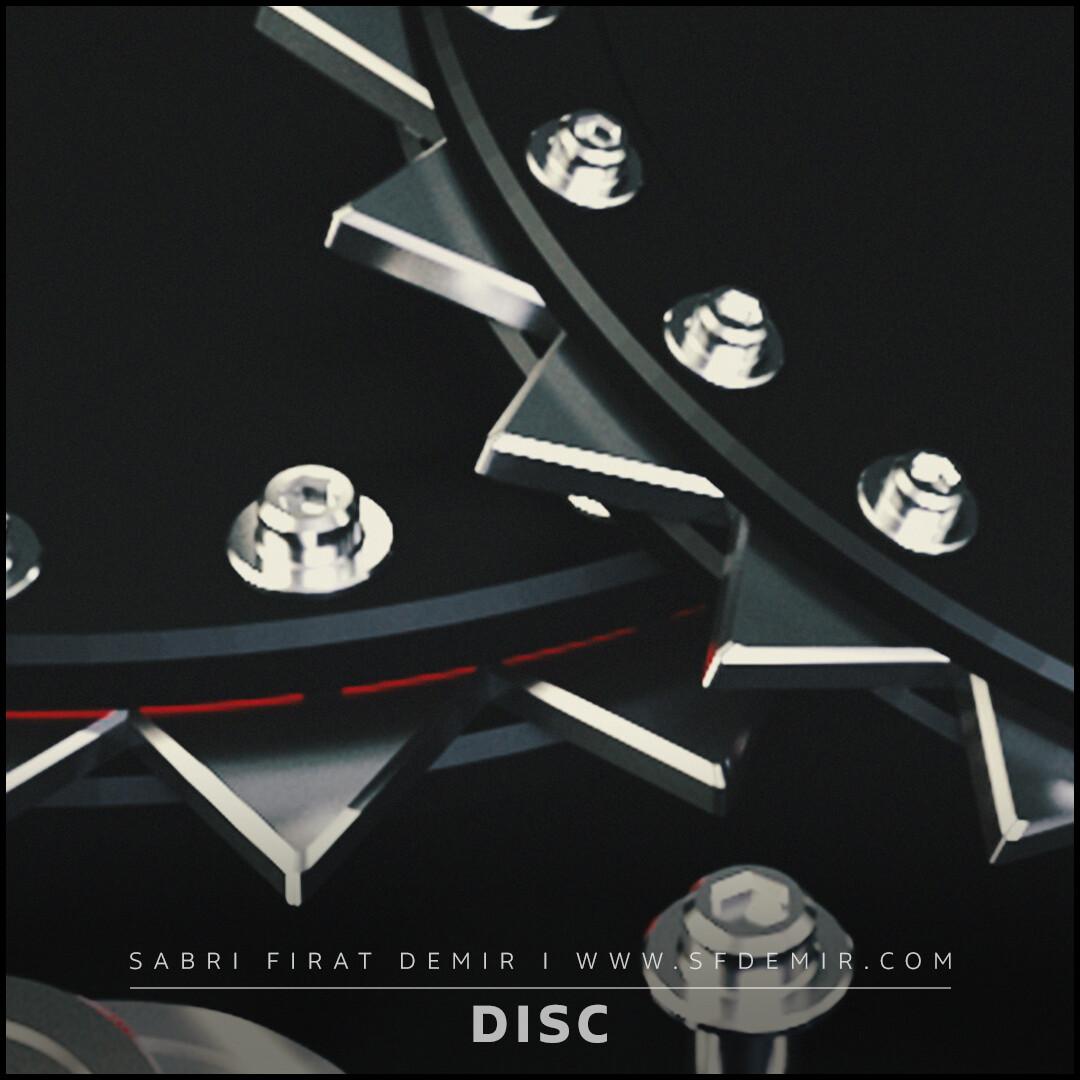 SFDEMIR Sci-Fi Disc