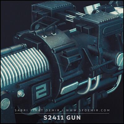 S 2411 SCI-FI Gun