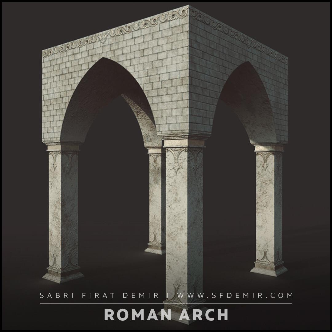 Medieval Roman Arc Model - Modular