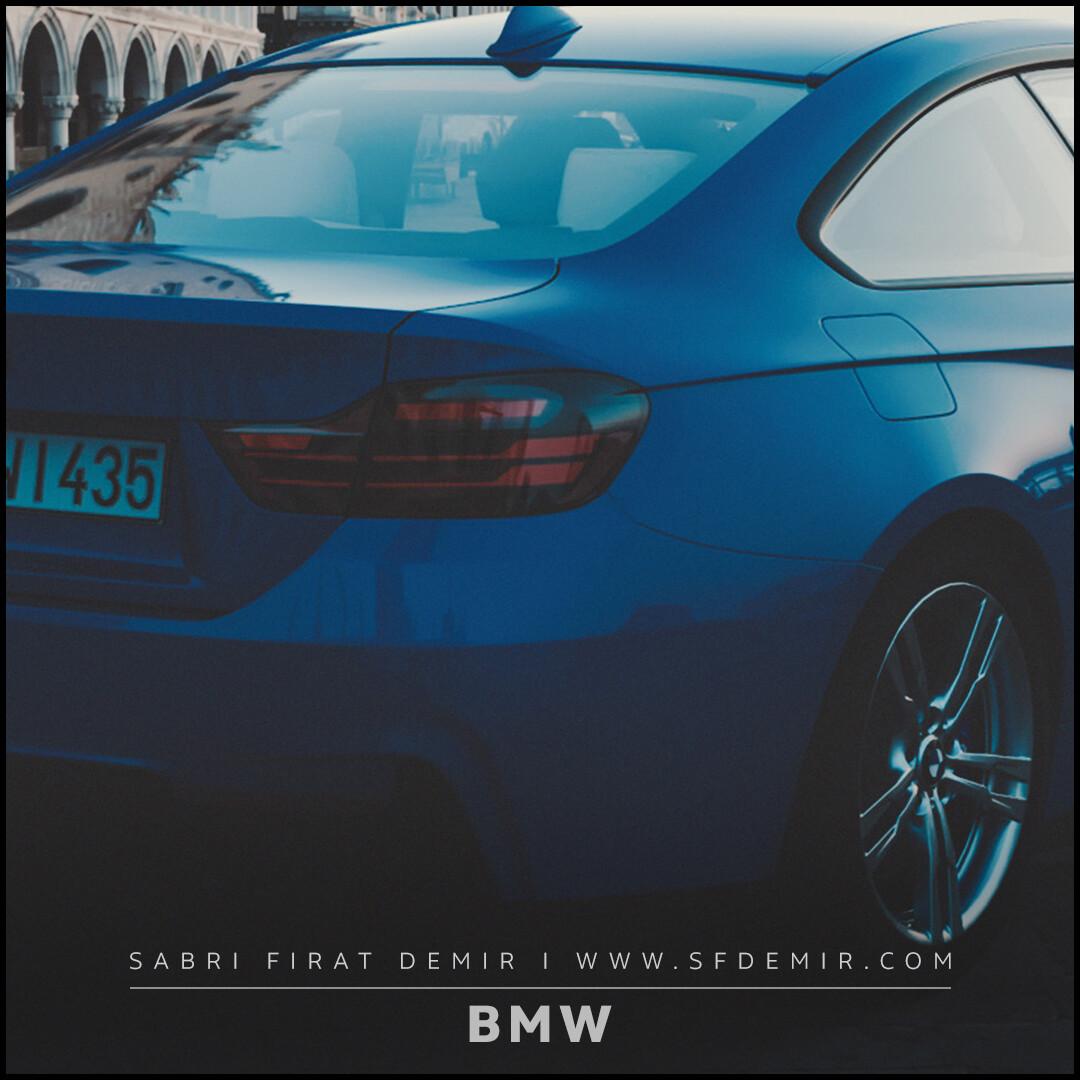 BMW Render Scene - Match Perspective Test