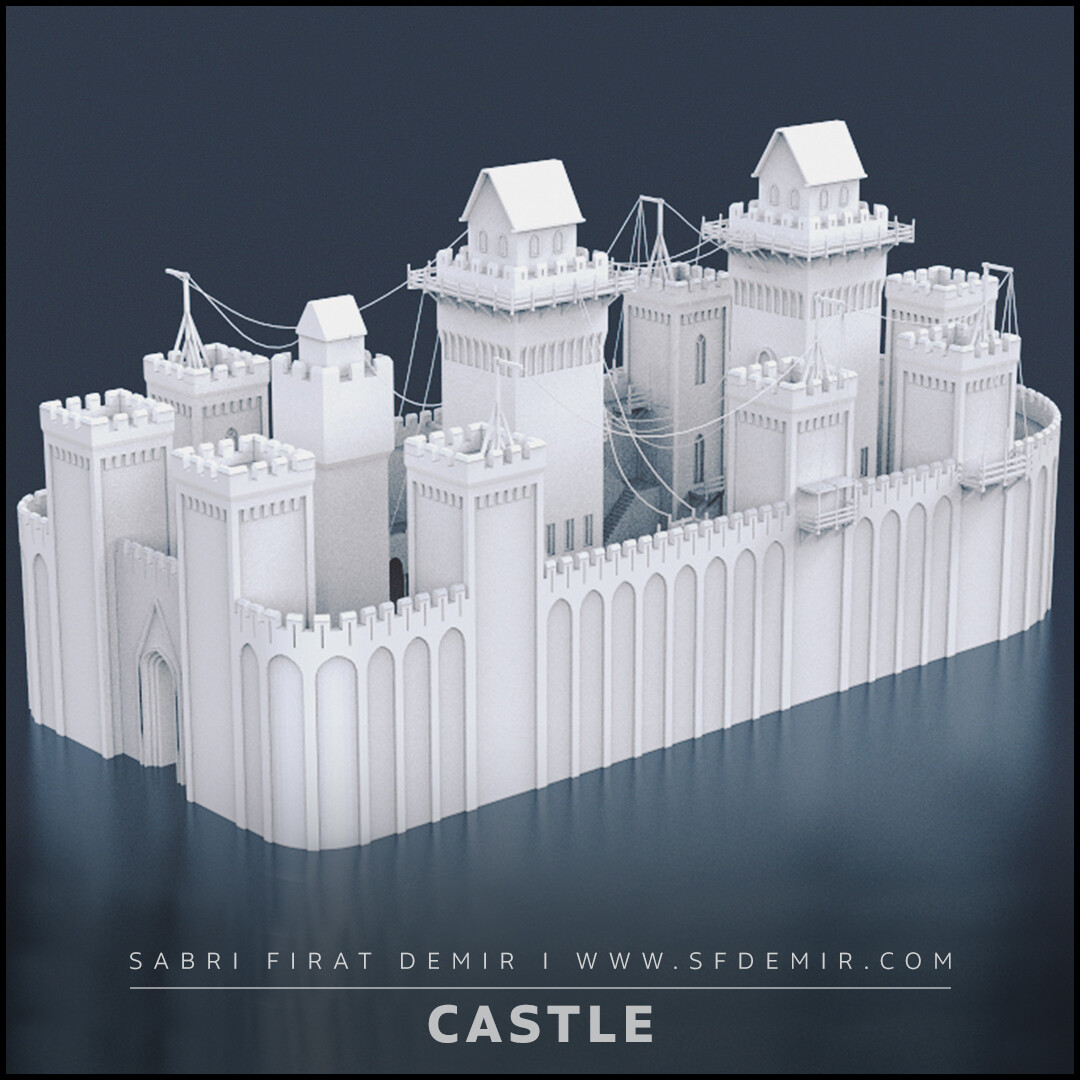 Rising Sun Medieval Castle
