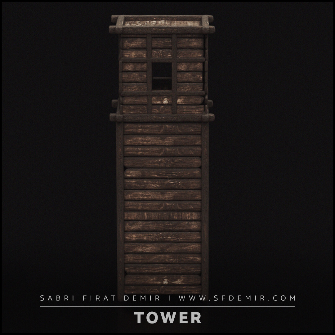 Medieval Wooden Tower