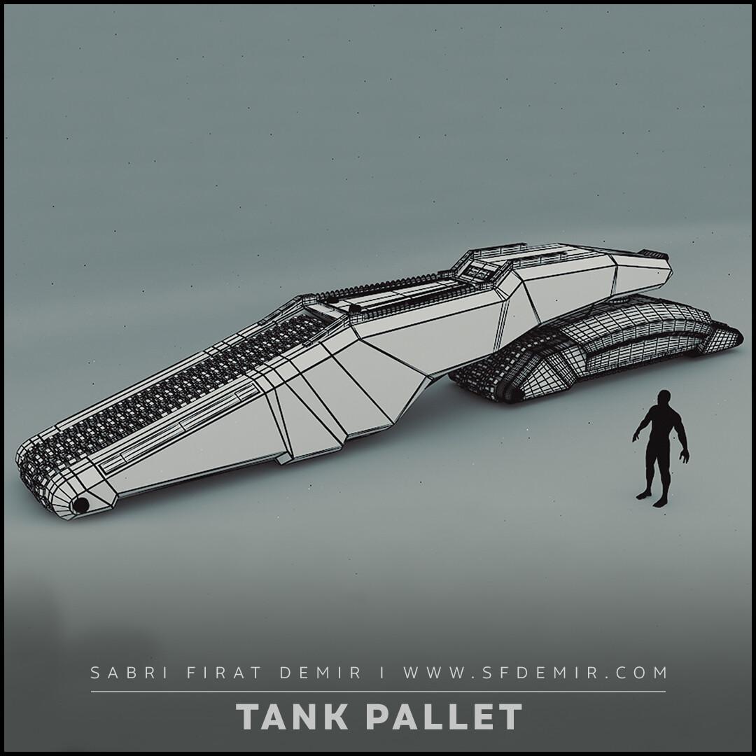Sci-Fi Tank Pallet