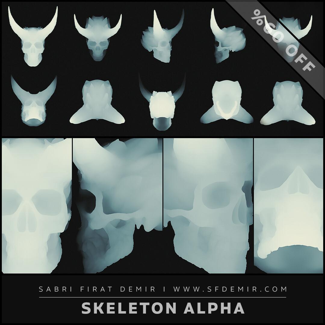 Skeleton King  Shield Alpha Pack