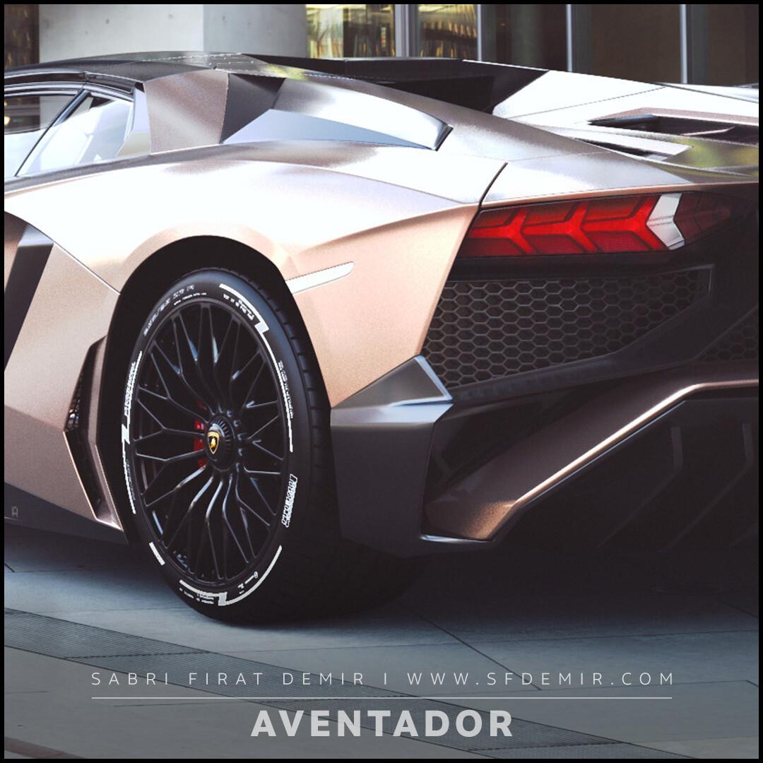 Lamborghini Aventador Tan Concept Design