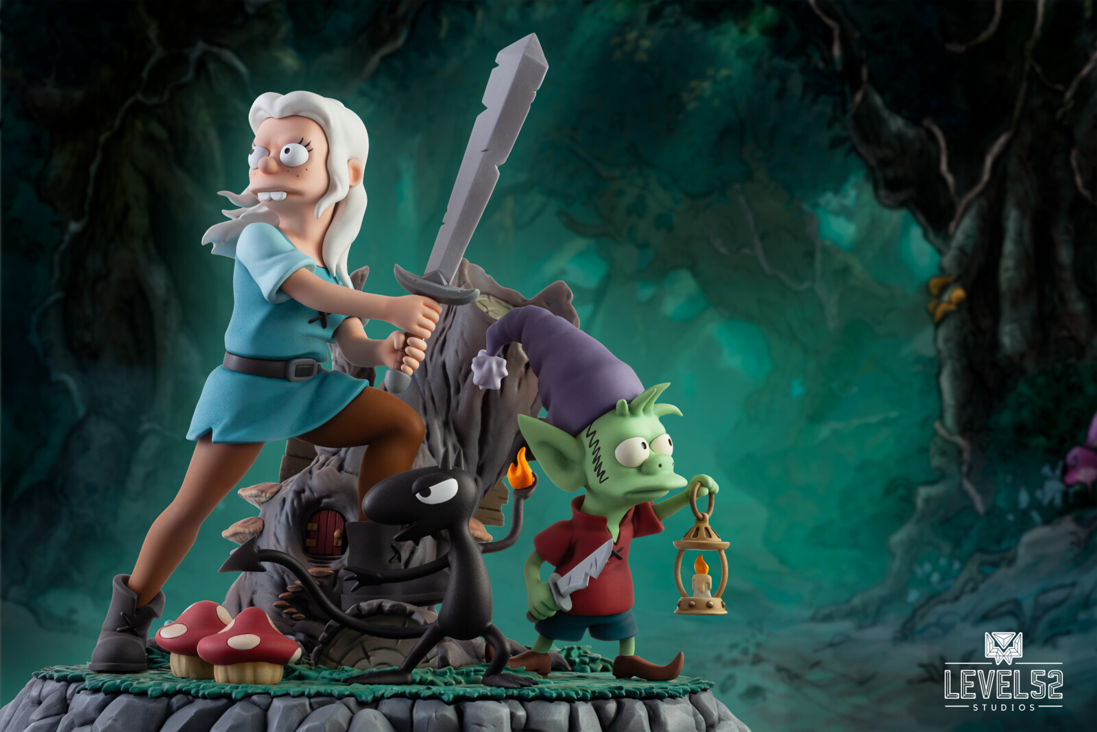 Disenchantment: The Princess, The Elf, And The Demon