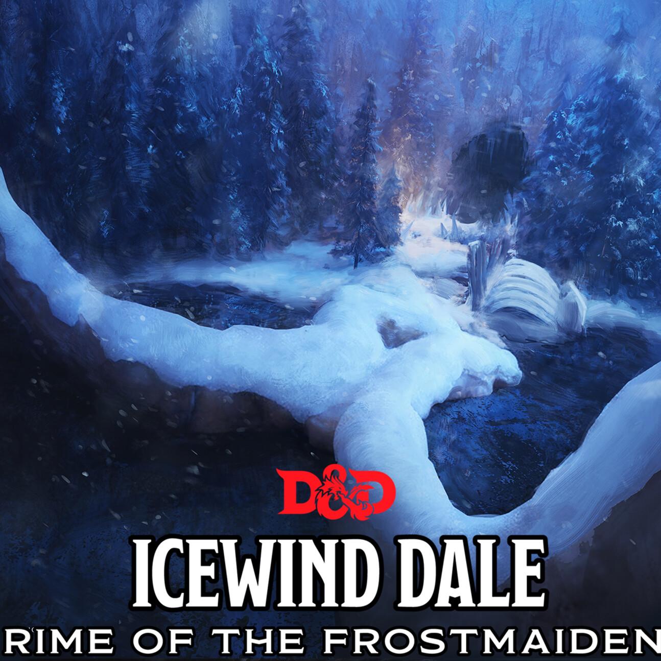 D&D Rime of the Frostmaiden - Mammoth Bones