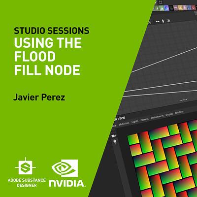 NVIDIA| Using The Flood Fill Node