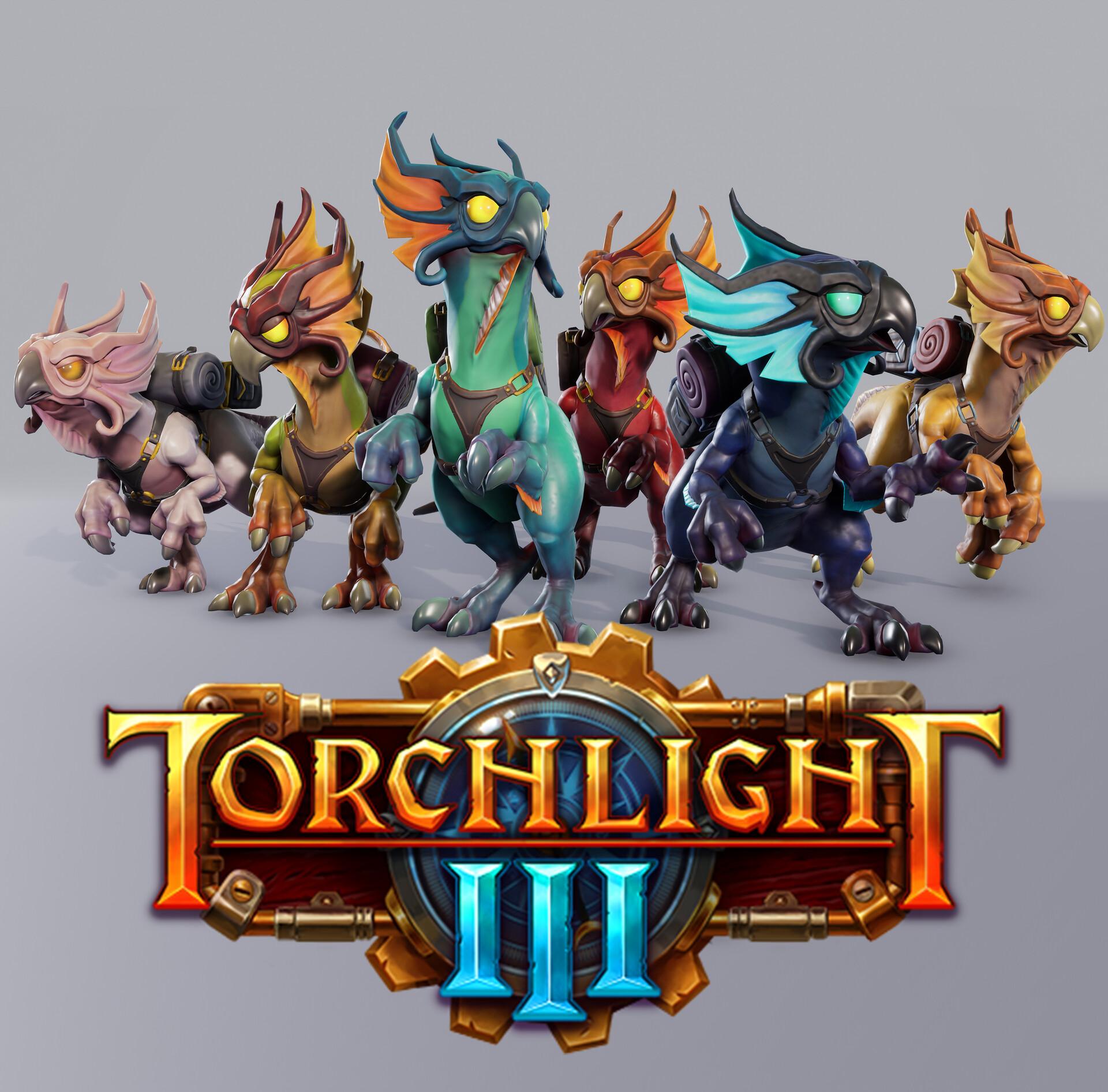 Chakawary Torchlight 3