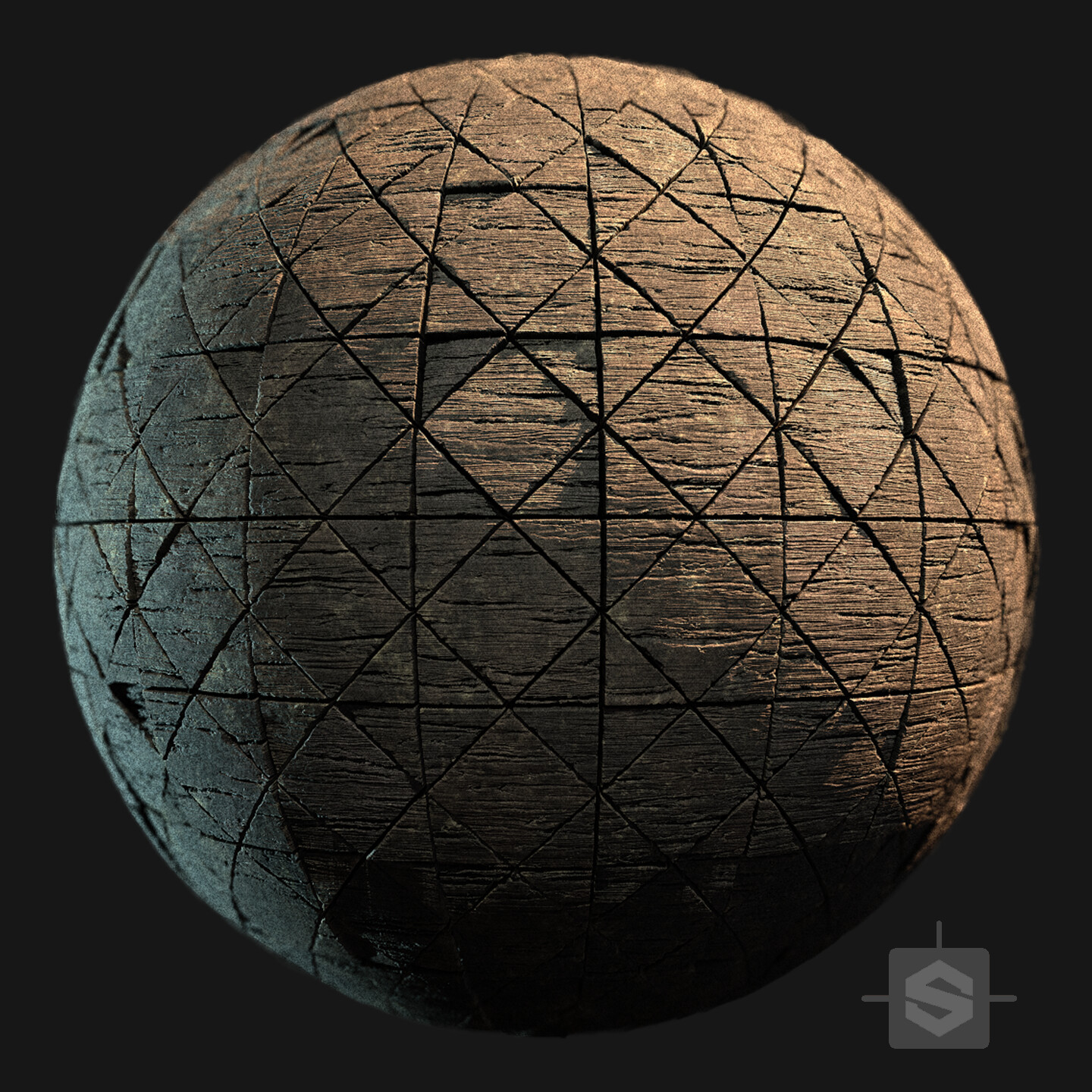 Substance Designer - Wood Floor