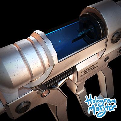 Hologram monster studio syringe thumb