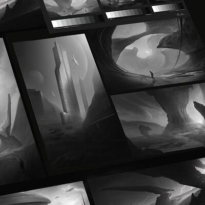 Eva kosmos sci fi composition thumbnails evakosmos 8