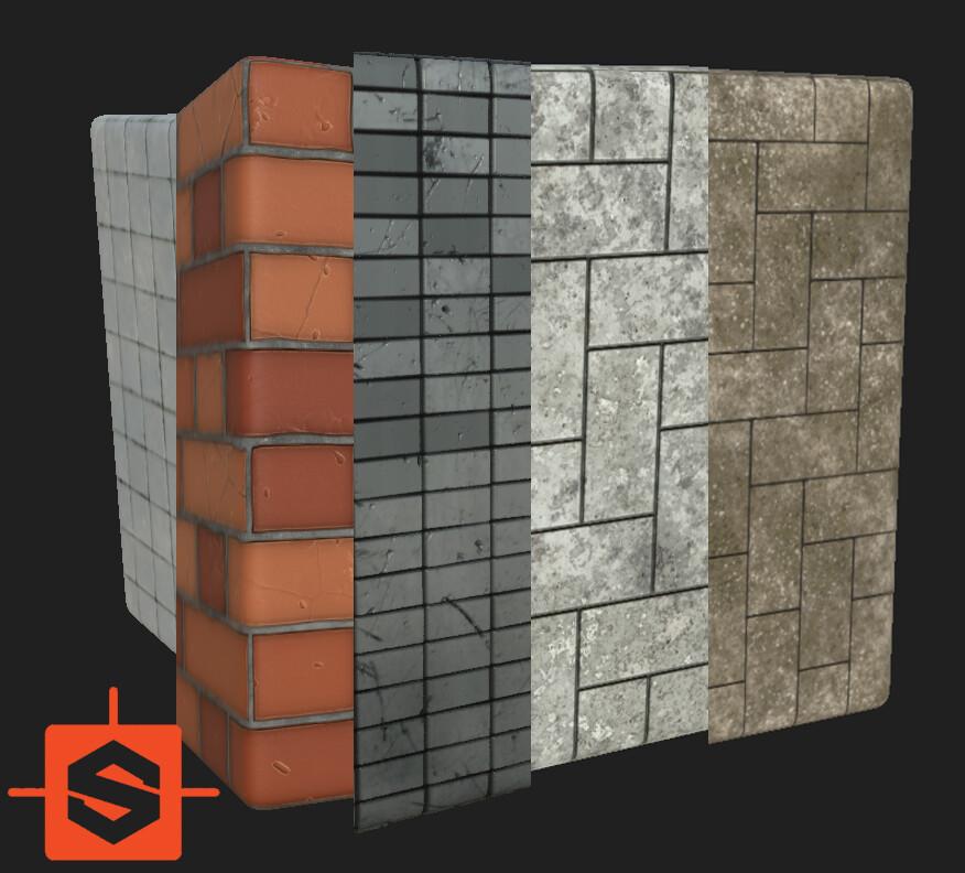 Bricks subtances