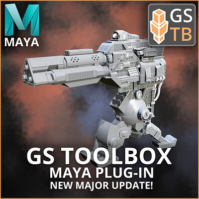 GS Toolbox v1.1 - Major Update! Maya Plug-in - Procedural Arrays, Fill with Quads and more!