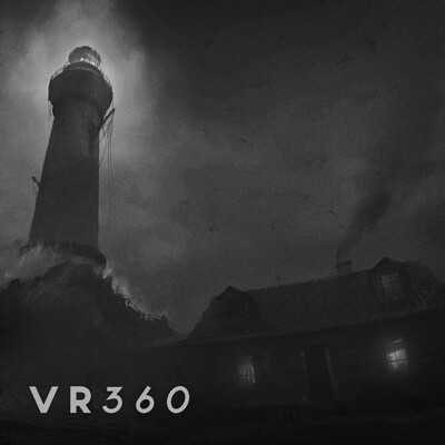The Lighthouse Part II - 360 Panoramic Concept Art in Unreal 4