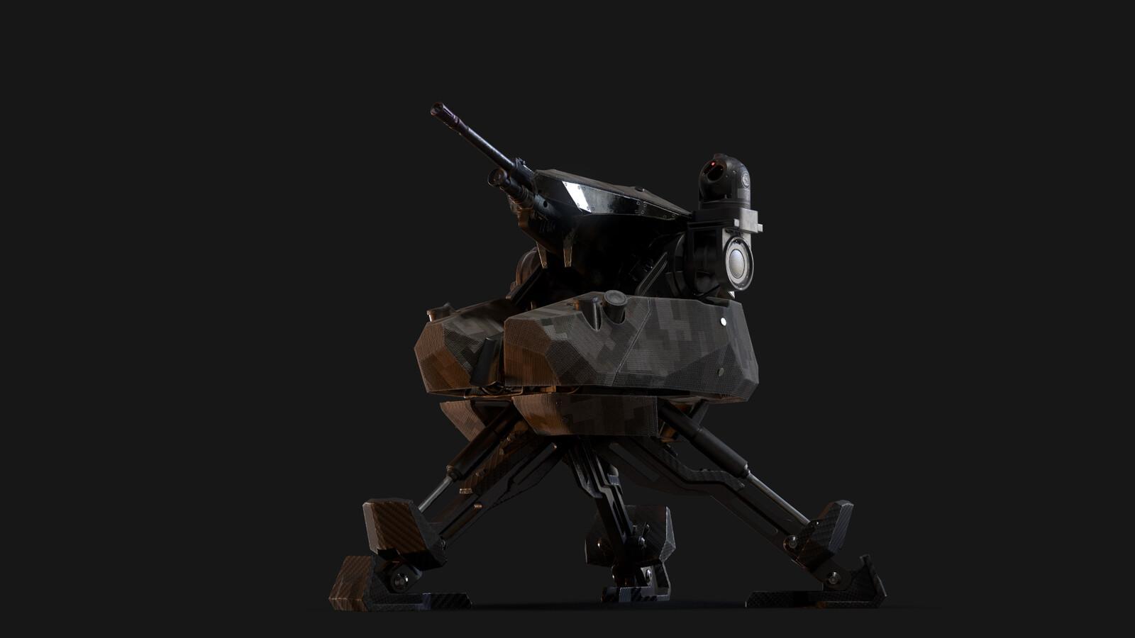 M.A.D.S. 249 automatic turret