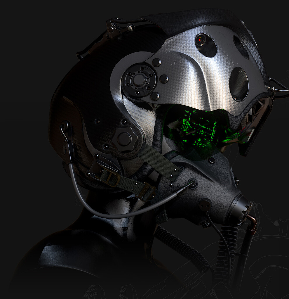 Ultimate Predator. W.A.S.P Helmet