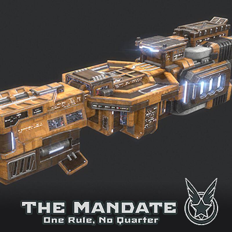 Destroyer - Arkwright Faction