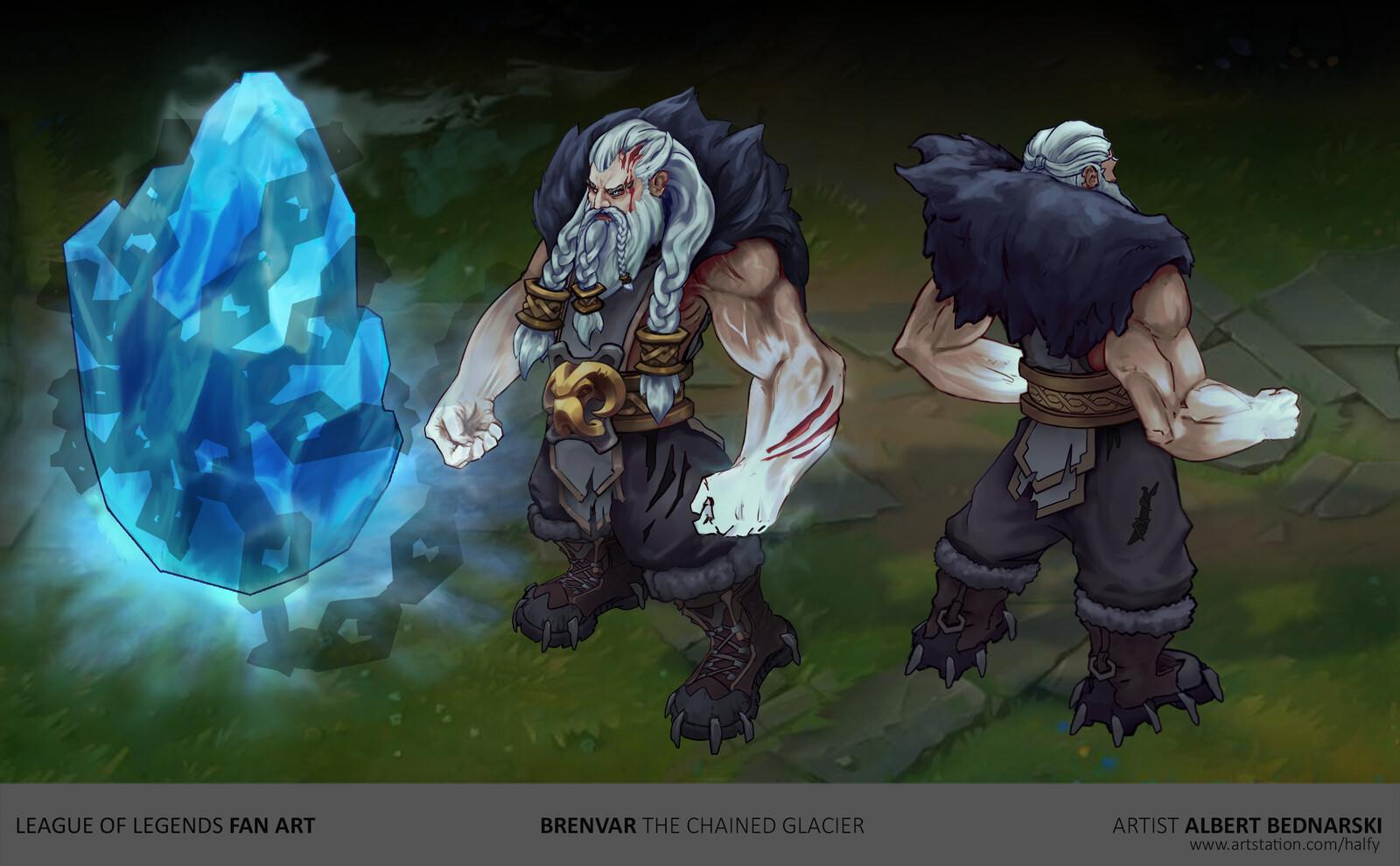 Brenvar - League of Legends Fan Champion Concept