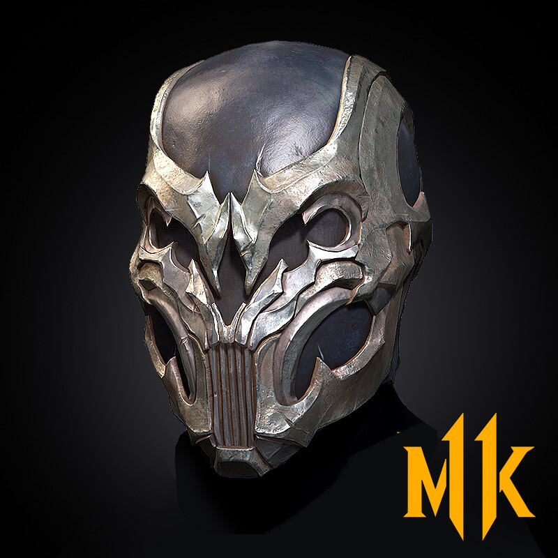 Noob Saibot Masks (Mortal Kombat 11 Gears)