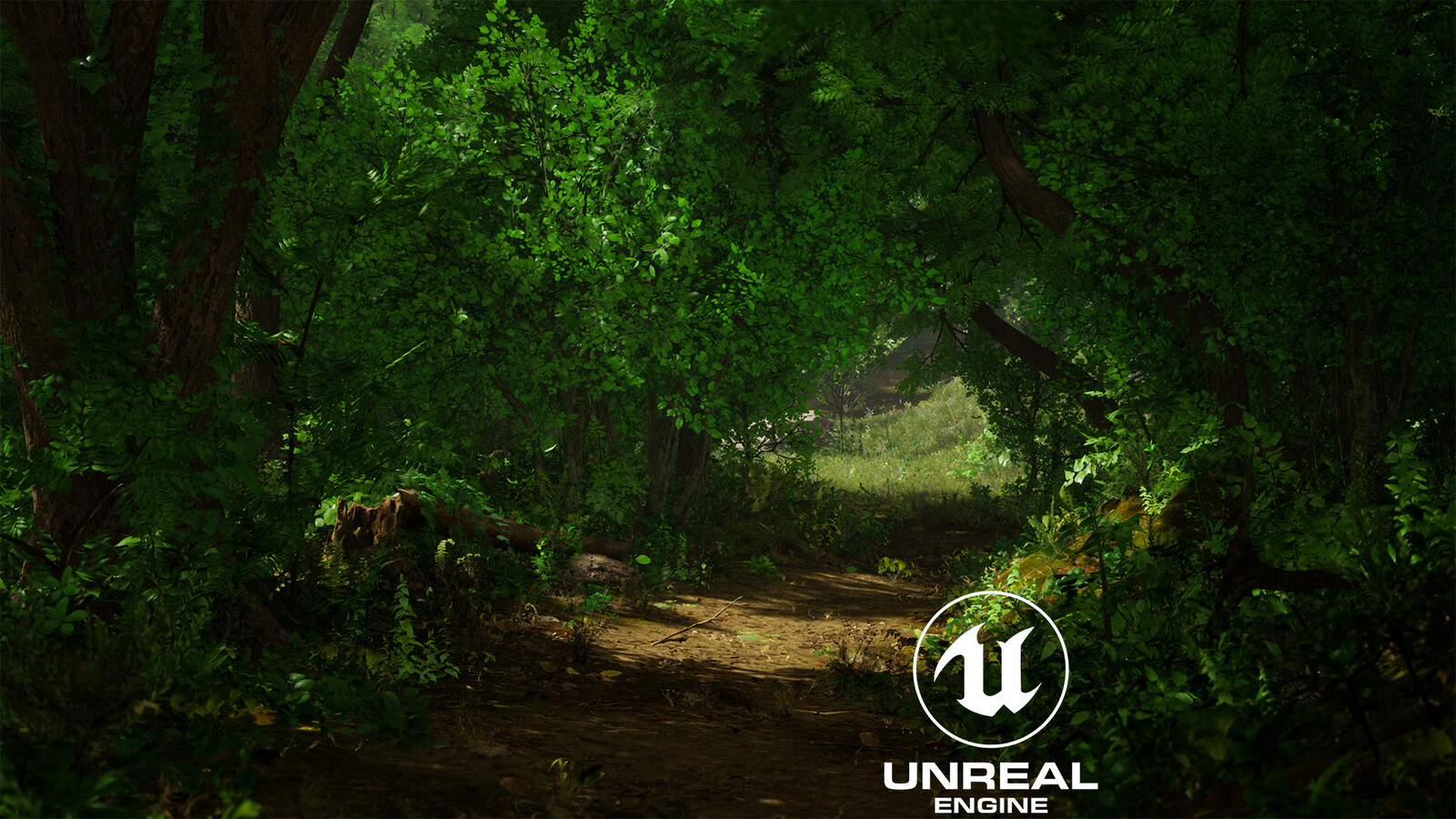 Small Park Environment In UE4