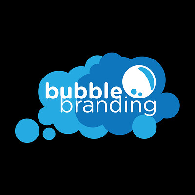 Bubble Branding Logo