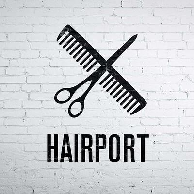 Hairport Branding