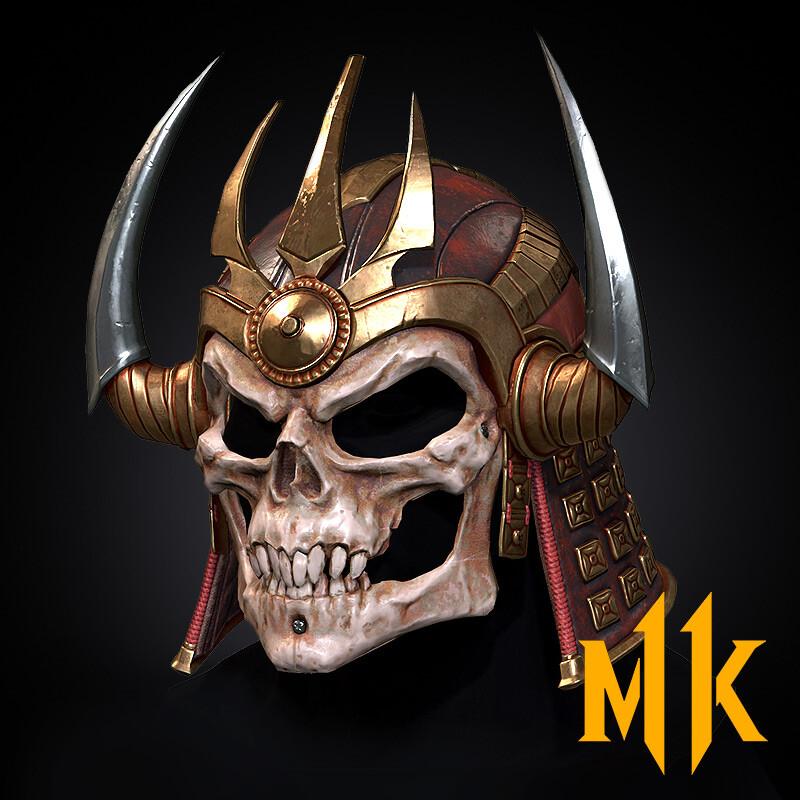 Shao Kahn Helmets (Mortal Kombat 11)