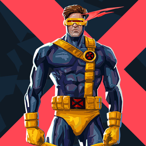 X-Men/ Valorant crossover- Cyclops