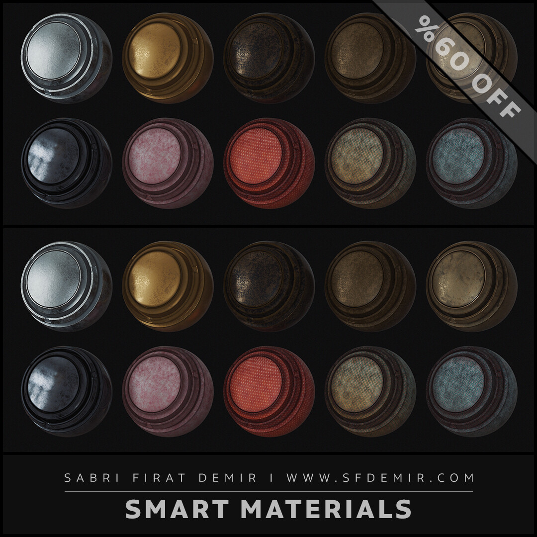 High Quality Smart Material Pack 03
