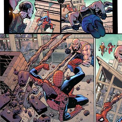Maksim strelkov maksim strelkov a spider man annual 37 page15 by paulosiqueira