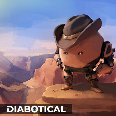 Eggbilly - Diabotical music track cover art