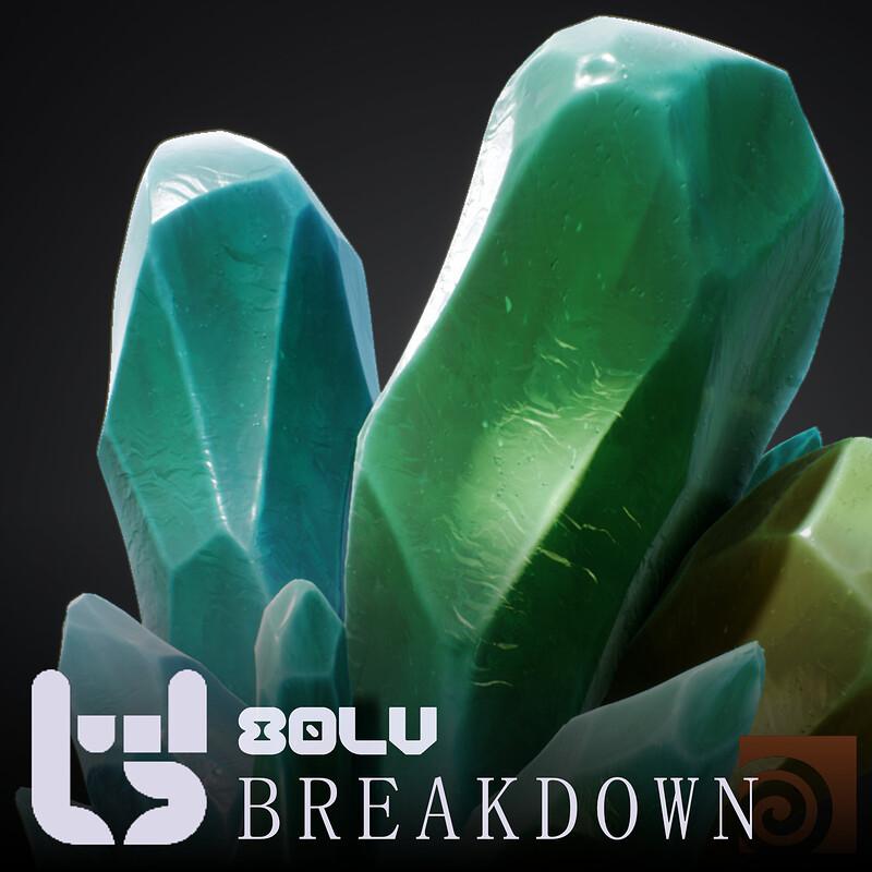 Procedural Crystals Breakdown