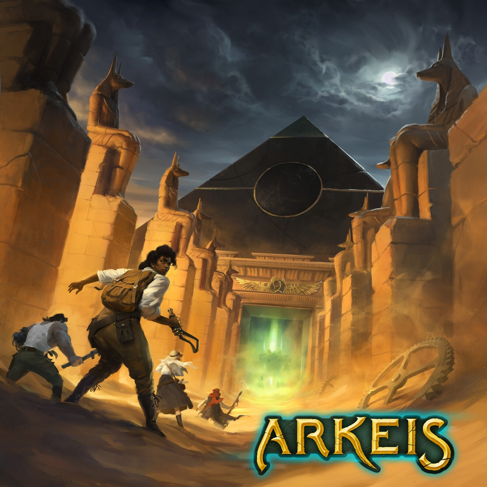 Arkeis : The Entrance of the Pyramid