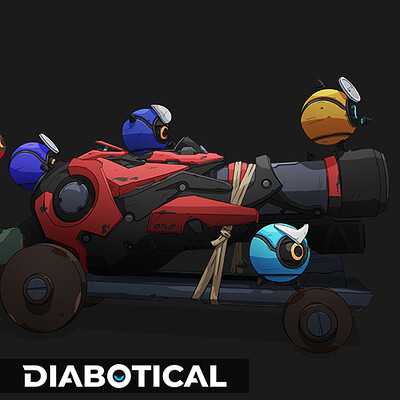 Rocket weeball - Diabotical ingame art