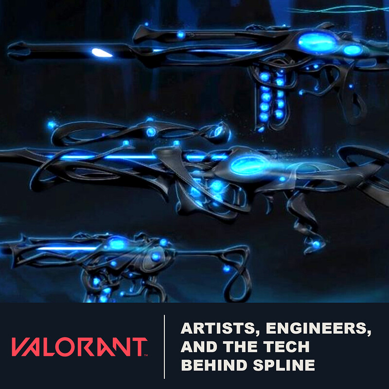 VALORANT - Artists, Engineers, and the tech behind Spline