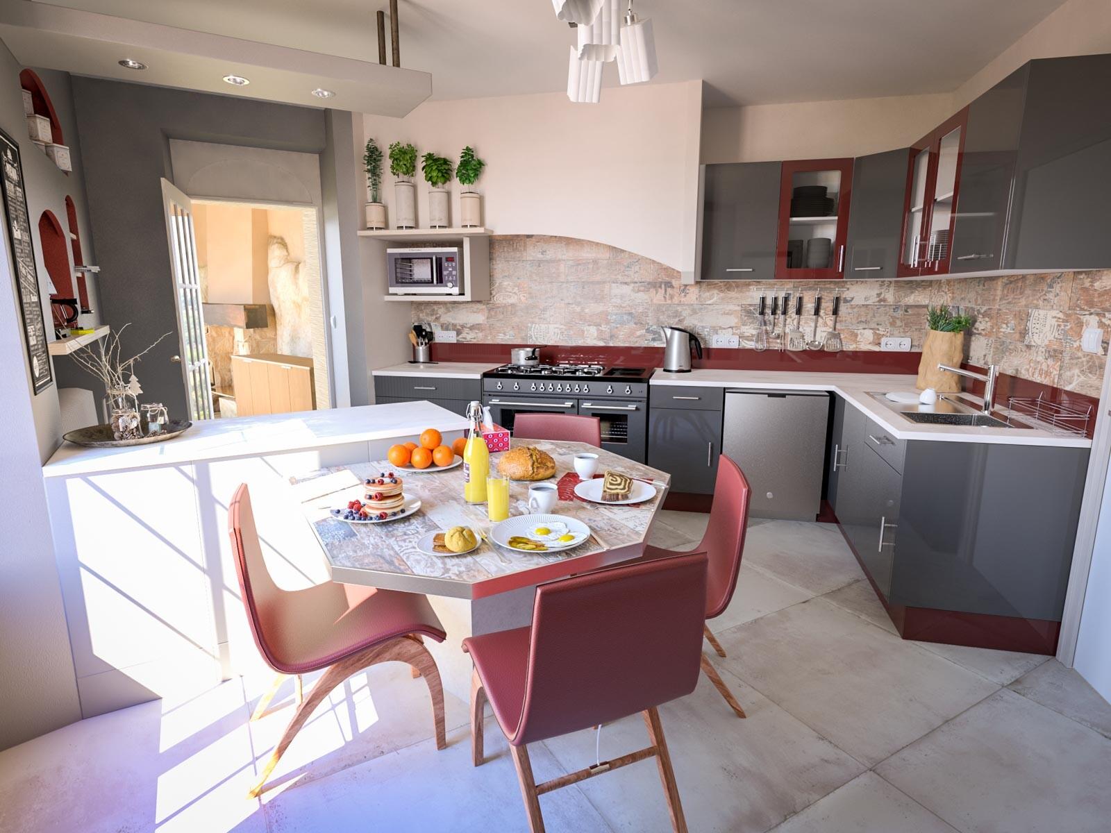 ArchViz Beaux-Chênes House | 2016