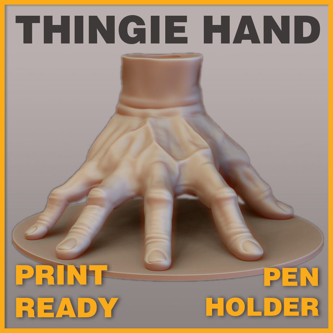 Thingie Hand Pen Holder