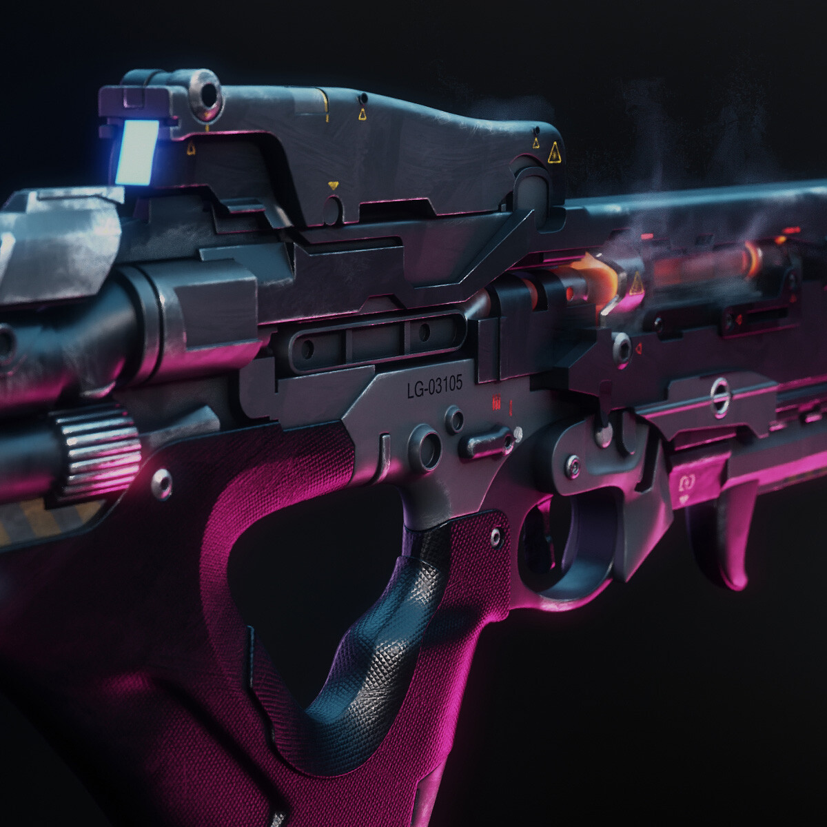 Battle Rifle - Modeling practice