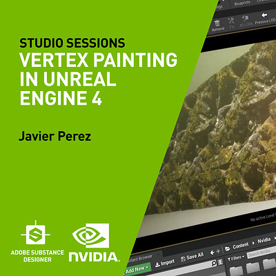 NVIDIA| Vertex Painting In Unreal Engine 4